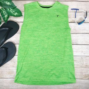 Old Navy Boys Tank Top Green X large